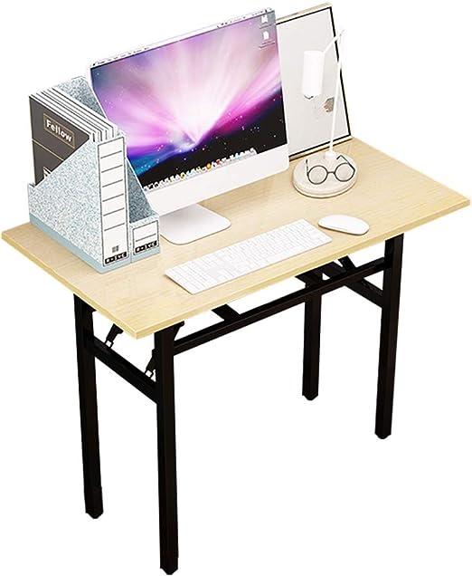 BL Mesa Plegable Rectangular Mesa de computadora para Espacio ...