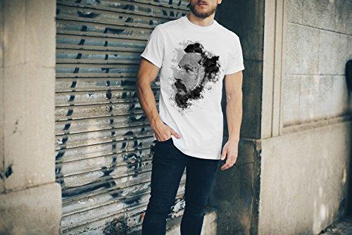 Tom Hardy III T-Shirt Herren, weiß mit Aufdruck