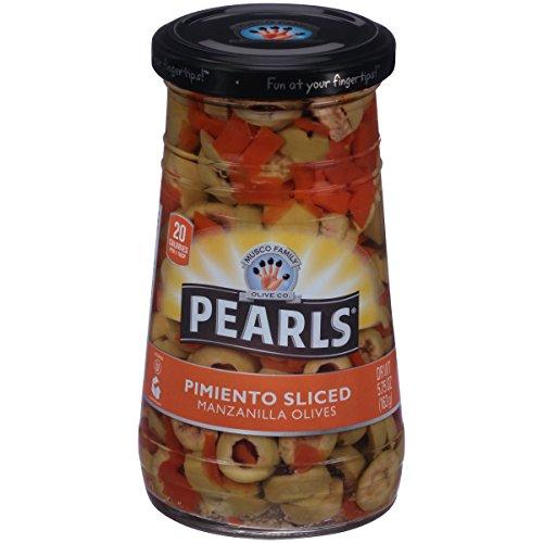Pearls 5.75 oz. Pimiento Sliced Manzanilla Olives