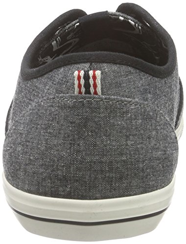 JJSPIDER Jack Gris Anthracite Jones Basses amp; Sneaker Chambray Sneakers Homme Grau qgHa7O