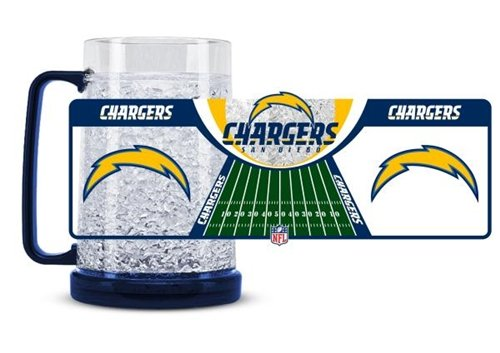 San Diego Chargers Crystal Freezer Mug