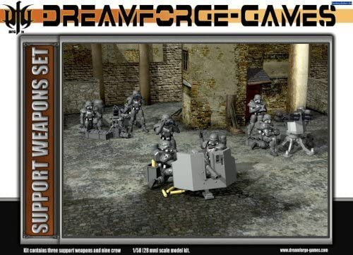DreamForge: Eisenkern Stormtrooper Support Weapons by Wargames Factory: Amazon.es: Juguetes y juegos