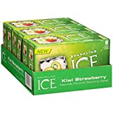 Sparkling Ice Fridge Pack, Strawberry Kiwi, 8 Fluid Ounce (Pack of 3)