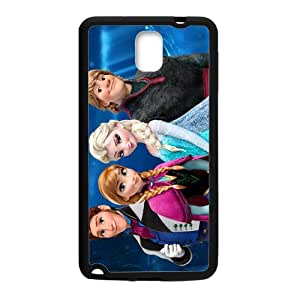 Frozen Princess Elsa Anna Kristoff Olaf Sven Hans Cell Phone Case for Samsung Galaxy Note3