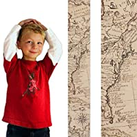 Growth Chart Art | Wooden Map Growth Chart for Kids [Boys & Girls] – Children's Room Décor Height Chart in 2 Fun Designs – East Coast and West Coast