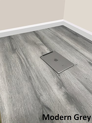 Grandismo Luxury Grey Wood Laminate Flooring - Sold Per 1m2 - V-Grooved -...