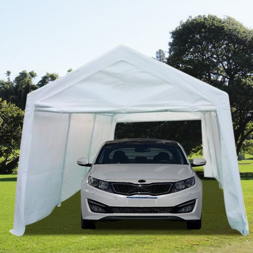 Garage Canopy Attachments : Peaktop  heavy duty outdoor carport gazebo canopy