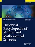 Historical Encyclopedia of Natural and Mathematical Sciences, Ben-Menahem, Ari, 354068834X