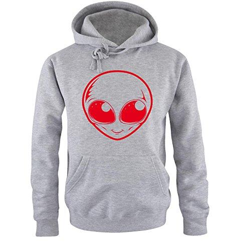 Cappuccio Taglia ShirtsAlien Comedy Sweater Hoodie S Uomo xxl GrigioRosso oexQdCWrB