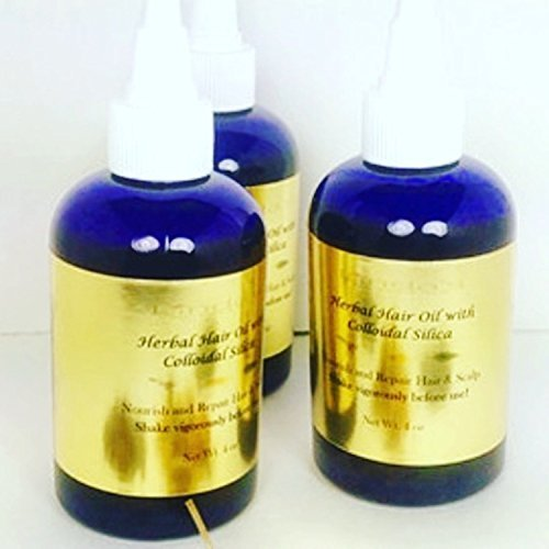 Herbal Hair Oil with Sillica by Linda's Clean Skin