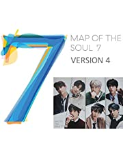 MAP of The Soul : 7 BTS Album (Version 4) CD+Official Poster+Photo Book+Lyric Book+Mini Book+Photocard+Postcard+Coloring Paper+Sticker+(Extra BTS 6 Photocards and 1 Double-Sided Photocard)