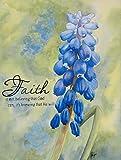 Christian Wall Decor, Flower Painting - Faith Art