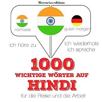Amazoncom 1000 Wichtige Wörter Auf Hindi Für Die Reise Und