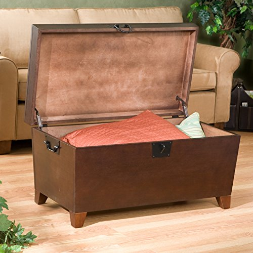 Amazon.com: Danville Trunk Coffee Table with Lift-top Espresso Home  Furniture Organizer Set Sleek and Functional Living Room Centerpiece in  Contemporary ... - Amazon.com: Danville Trunk Coffee Table With Lift-top Espresso