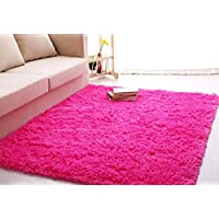 Forever Lover Soft Indoor Morden Shaggy Area Rug Pad, 2.5...