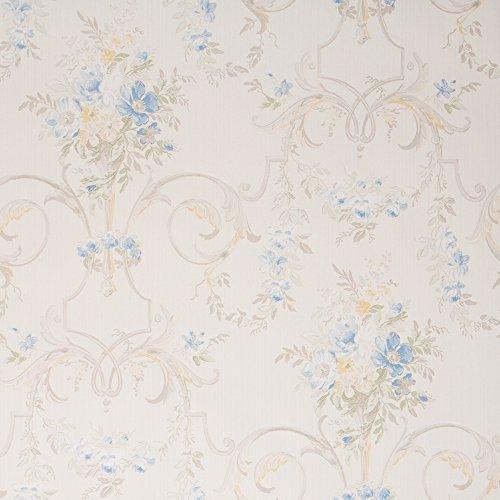Ivory Floral Wallpaper - 8