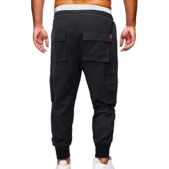 Btruely Moda Pantalón de Deporte para Hombres Pantalones ...