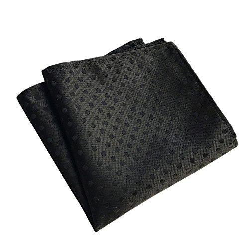 Hongfutong Pañuelos de bolsillo de los hombres: trajes de negocios, accesorios de moda, varios patrones de impresión, 25 × 25 cm