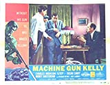 Machine Gun Kelly 1958 Authentic, Original Charles Bronson Gangster 11x14 Lobby Card #2 Movie Poster