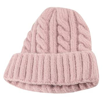 Amazon.com  Toddler Kid Girl Boy Baby Winter Thick Soft Crochet Cable Knit  Hat Beanie Infant Hairball Cap (Pink)  Beauty a44a20eace3a