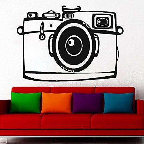 Photo Camera Wall Decal Camera wall Sticker photostudio wall vinyl photo decal ae95