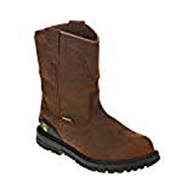 Herman Survivor Mens Bison Steel Toe Waterproof Brown Work Boot (7.5 (M) US / 25.5 MEX / 47 EUR) - - Amazon.com