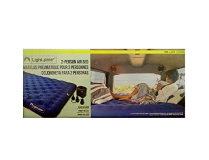 Amazon.com: Light Speed Air Bed Queen Pump Included: Home ...