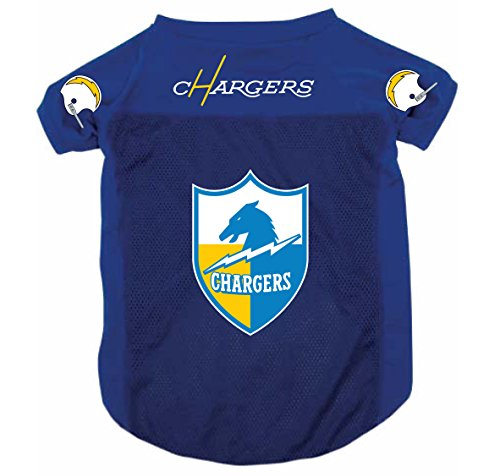 NFL San Diego Chargers Pet Dog Mesh Football Jersey Throwback Style Small ()