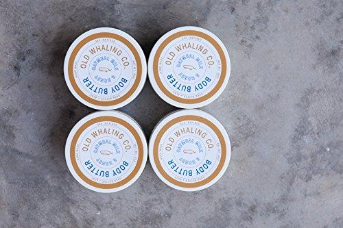 Company Four (FOUR Oatmeal Milk + Honey Body Butter    handmade lotion / shea butter / aloe vera / paraben + mineral oil free / moisturizing / best seller)