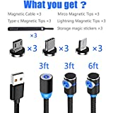Magnetic Phone Charger Cable, 3 in 1