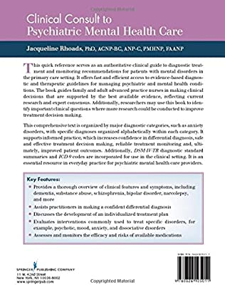 Clinical Consult to Psychiatric Mental Health Care