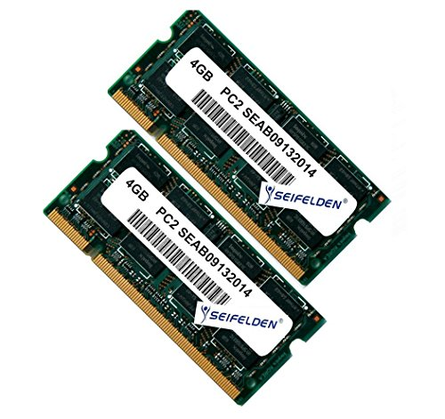 8GB (2X4GB) Memory RAM for Toshiba Satellite L455D-S5976 Laptop Memory Upgrade - Limited from Seifelden (Upgrades Computer Laptop Memory)