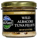 Wild Planet, Wild Albacore Tuna Fillets, 4.5 Ounce Jar (Pack of 12)