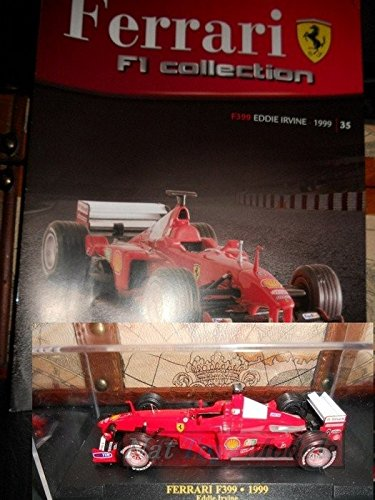 Ferrari F1 Collection F399 Irvine Model +BOX + fas. Fabbri DIE CAST ...