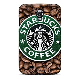 Faddish Phone Starbucks Case For Galaxy S4 / Perfect Case Cover