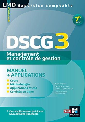 DSCG 3 Management et contrôle de gestion Manuel et applications 7e édition (French Edition)