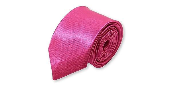 LABEL-CRAVATE - Corbata - para hombre Rosa fucsia Talla única ...