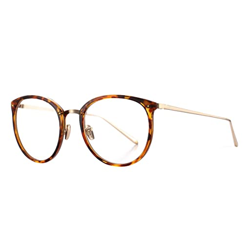 ad474c6ddc Amazon.com  AZORB Womens Vitage Round Eyeglasses Non-Prescription Glasses  Frame  Shoes
