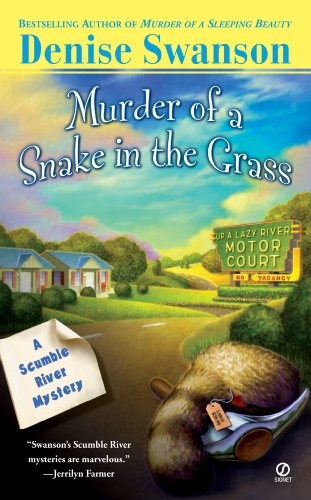 book cover of Murder of a Snake in the Grass
