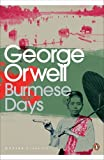Front cover for the book Burmese Days by George Orwell
