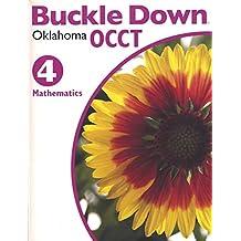 Amazon buckle down books buckle down oklahoma occt mathematics grade 4 fandeluxe Images