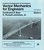 Vector Mechanics for Engineers : Statics, Beer, Ferdinand Pierre and Russell, Johnston E., 0070050112