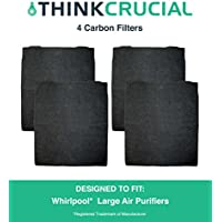 4 Carbon Pre Filters, Fits Whirlpool AP300, AP350, AP450, AP510, Part  8171434K