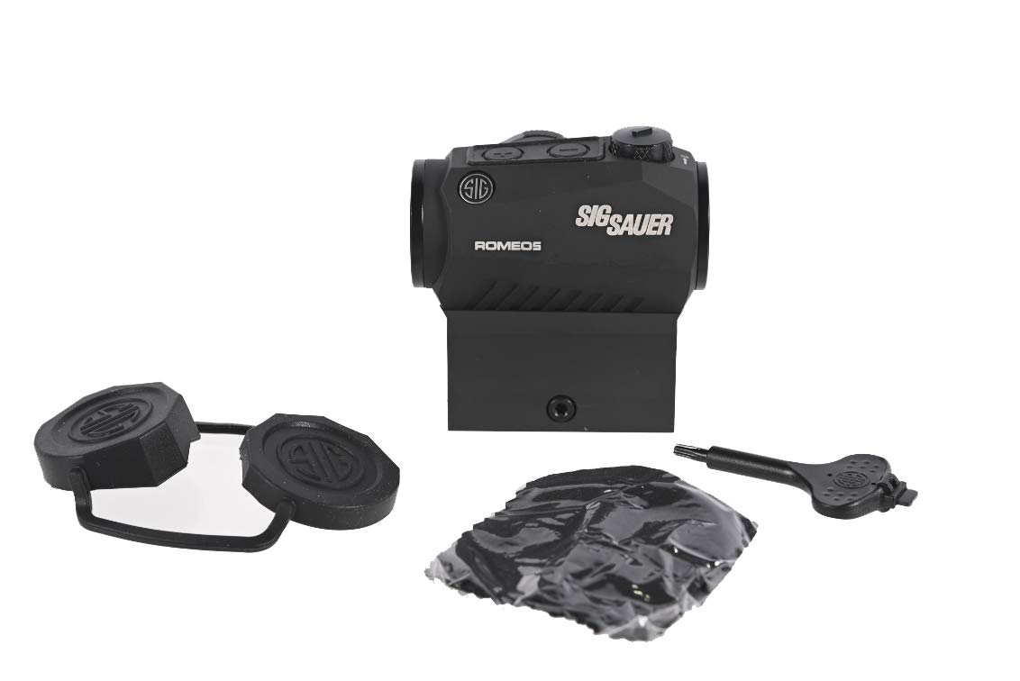 Sig Sauer SOR50000 Romeo5 1x20mm Compact 2 Moa Red Dot Sight, Black by Sig Sauer