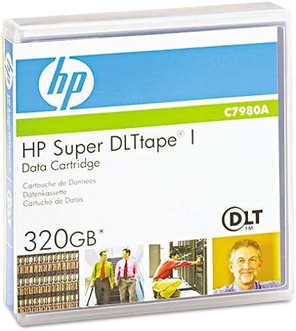 HP Super DLT I SDLT 220//320 Data Tape HP C7980A - 110//220GB, 160//320GB
