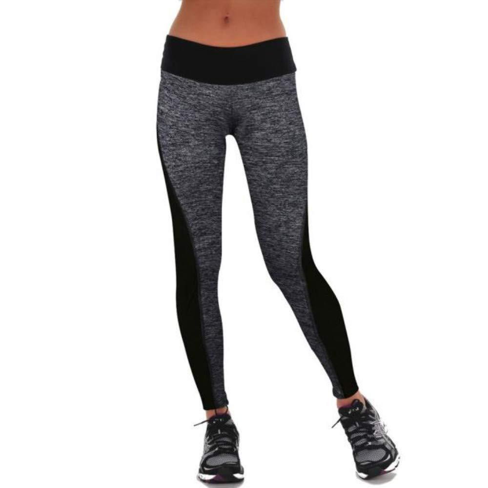 Cebbay Pantalones de Yoga de Las Mujeres Pantalones de chándal elásticos de Cintura Alta Jogging Leggings de Fitness Ropa de Deporte: Amazon.es: Ropa y ...