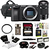 Sony a6500 Mirrorless Camera w/ 55-210mm Lens + 32GB Deluxe Accessory Kit
