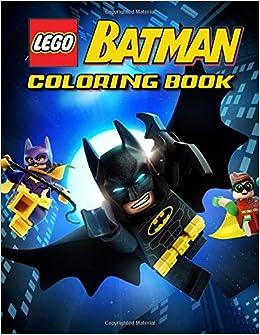 LEGO Batman Coloring Book: 31 Illustrations | Exclusive Book ...