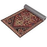 Ananda Yoga Mat   Premium Print Unique Carpet Design for Fitness Workout, Gym