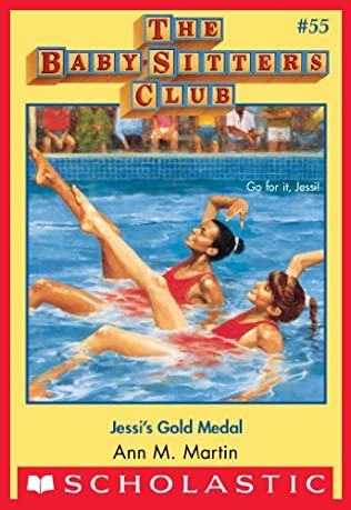book cover of Jessi\'s Gold Medal